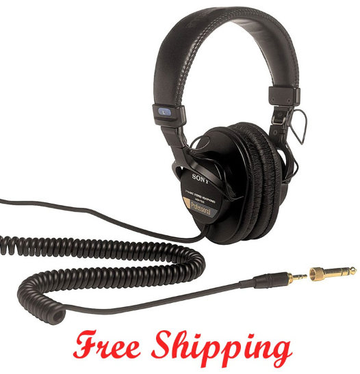 Sony-mdr-7505-head-phones-free-shipping