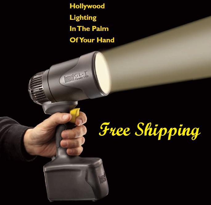Get It Now New Lowel Gl 10 Handheld Battery Ed Led