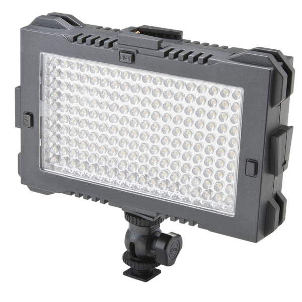 F&V-lighting-z180s-bi-color-led-light-panel-on-camera-affordable-cheap