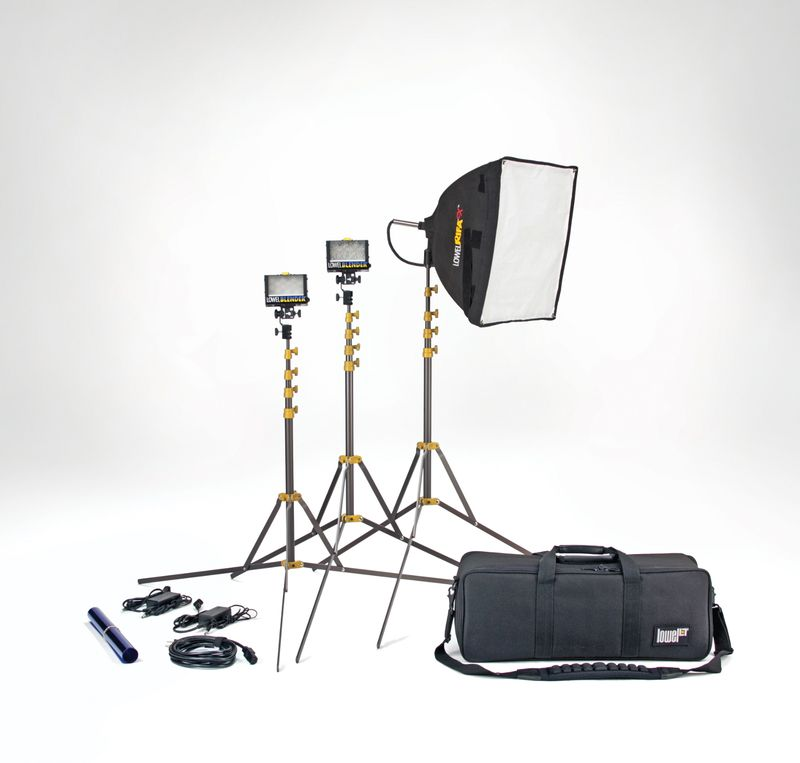 Lowel-slimlight-blender-rifa-2-light-kit-led-video-photo-studio-SLK-9412LB
